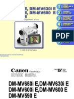 Canon Dm Mv600i Dm Mv630i Dm Mv600 Dm Mv590 Service Repair Manual