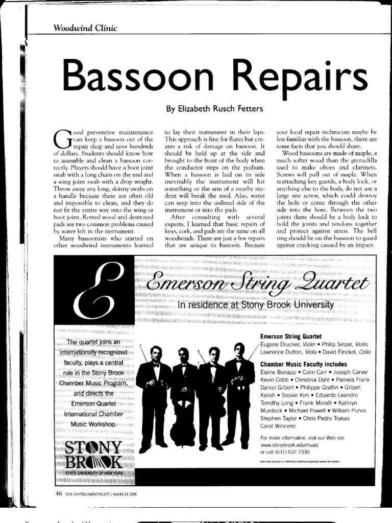 img019 | Bassoon | Woodwind Instruments