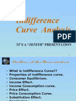 Indiference Curve Analysis,ppt
