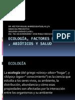 1.-ECOLOGÍA, FACTORES BIÓTICOS , ABIÓTICOS Y SALUD