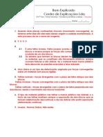 Ficha - Ocorrência de falhas e dobras (1) - Soluções