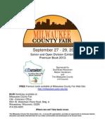 Milwaukee County Fair 2013 Open Class Exhibit Book