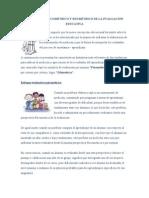 EL ENFOQUE PSICOMÉTRICO Y EDUMÉTRICO DE LA EVALUACIÓN EDUCATIV1