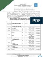 EDITAL (PREG_RTR) nº 105, de 18-04-2013-