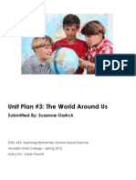 EDEL453 Spring2013 SuzanneGARLICK Unit 3 Geography PLANNER
