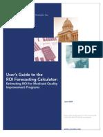 CHCS ROI Calculator Users Guide
