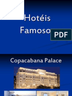 HOTEIS FAMOSOS