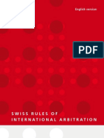 SWISS Arbitration