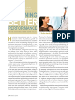 Designing Performance