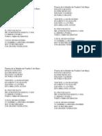 Poesía de la Batalla de Puebla 5 de Mayo