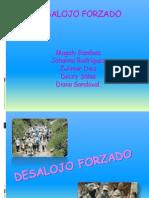 DESALOJO FORZADO