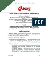Código Procesal Constitucional.05jul12