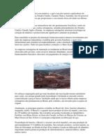O território brasileiro é rico em minérios