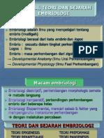 Definisi, Teori Dan Sejarah Embriologi_dono_2010