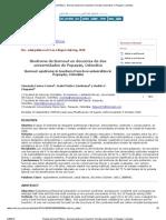 Revista de Salud Pública - Burnout syndrome in teachers from two universities in Popayán, Colombia.pdf