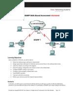 CCNA 2 EIGRP Skills Based Assessment Exam Answered