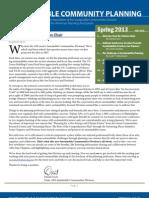 APA-SCD Spring 2013 newsletter