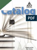 AOCS Press 2010-2011 Catalog