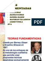 TEORIAS FUNDAMENTADAS