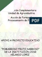 Presentación POMITOS  para SENA2008