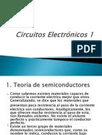 Circuitos Electrónicos 1 clase a