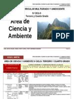 IV Ciclo Ciencia y Ambiente-Agp-ugel Anta