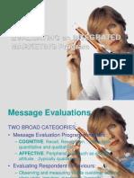 Evaluating IMC Programe