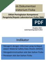 Sistem Dokumentasi Laboratorium Fisika