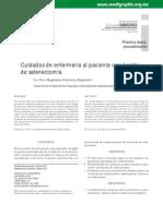 CUIDADOS DE ENFERMERÍA EN PACIENTES CON SAFENECTOMIA