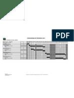 Cronograma de Pregrado 2013 05-12-2012