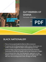 Guy Warren of Ghana