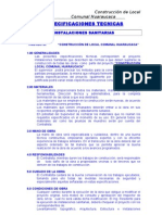 Especificaciones Tecnicas -Inst[1]. Sanitarias0