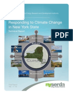 Responding to Climate Change in New York State, Technical Report published by the New York State Energy Research and Development Authority