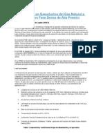 El Transporte en Gasoductos del Gas Natural a Baja Presión vs Fase Densa de Alta Presión