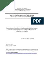 345 Metodo Bayesiano de Seleccion de Variables