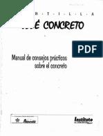 Cartilla Jose Concretos