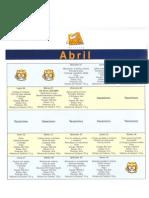 Menús abril y mayo