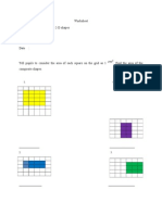 Worksheet bentuk dan ruang tahun 4