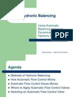Hydronic Balancing