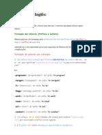 Sufixos em Inglês