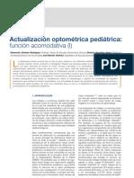 A.C. Actualización optométrica pediátrica función acomodativa (I)