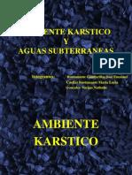 Ambiente Karstico y Subterraneo