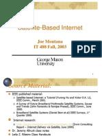 Satellite Based Internet