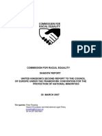 The Commission for Racial Equality Shadow Report