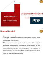 Financial Hospital Corporate Profile March 2013