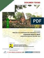 dokumen Usulan Teknis Kawasan Wisata Ubud Provinsi Bali