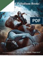 2012 Catalog of Palladium Books