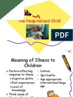 The Hospitalized ChildAUDIO