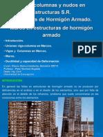 2. Vigas, columnas y nudos en Estructuras S.R. de Marcos de Hormigón Armado