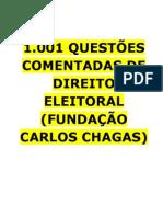 1001 Questoes Fcc Direito Eleitoral